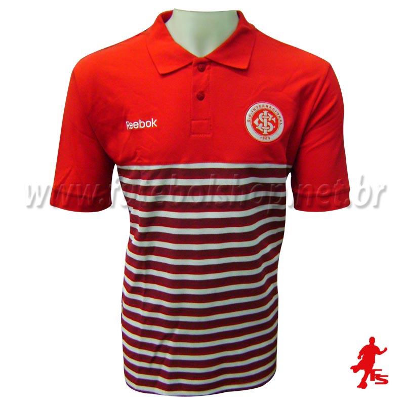 Pólo Reebok Internacional Red Stripes - IN09009V