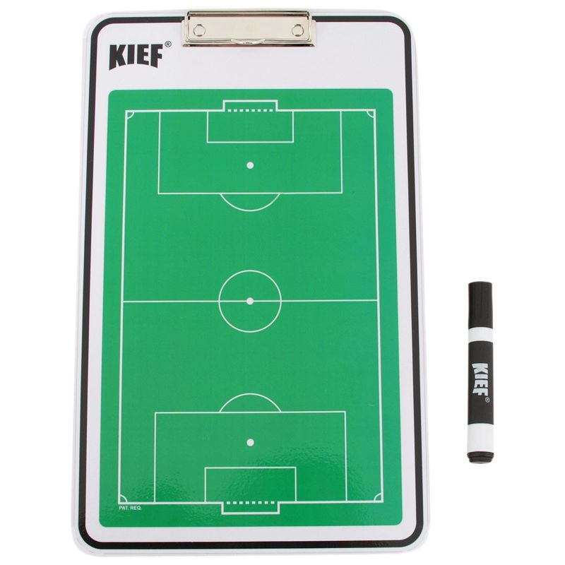 Prancheta Tática Dupla Face de Futebol de Campo Kief
