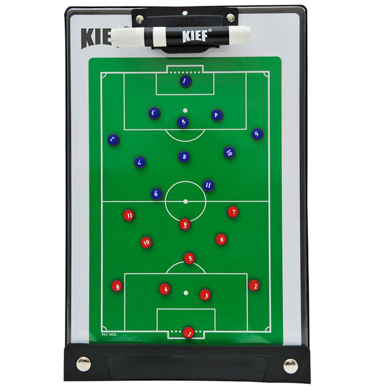 Prancheta Tática Magnetica Futebol de Campo com Caneta Kief