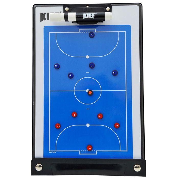 Prancheta Tática Magnética Futsal com Caneta Kief