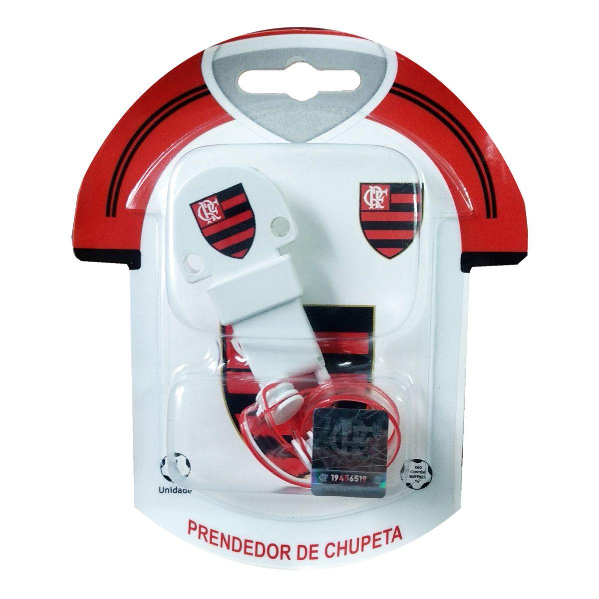 Prendedor de Chupeta do Flamengo