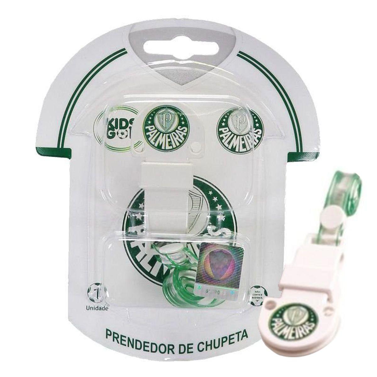 Prendedor de Chupeta do Palmeiras