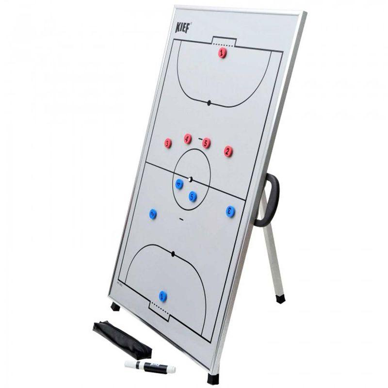 Quadro Tático Magnético de Futsal com Tripe Kief