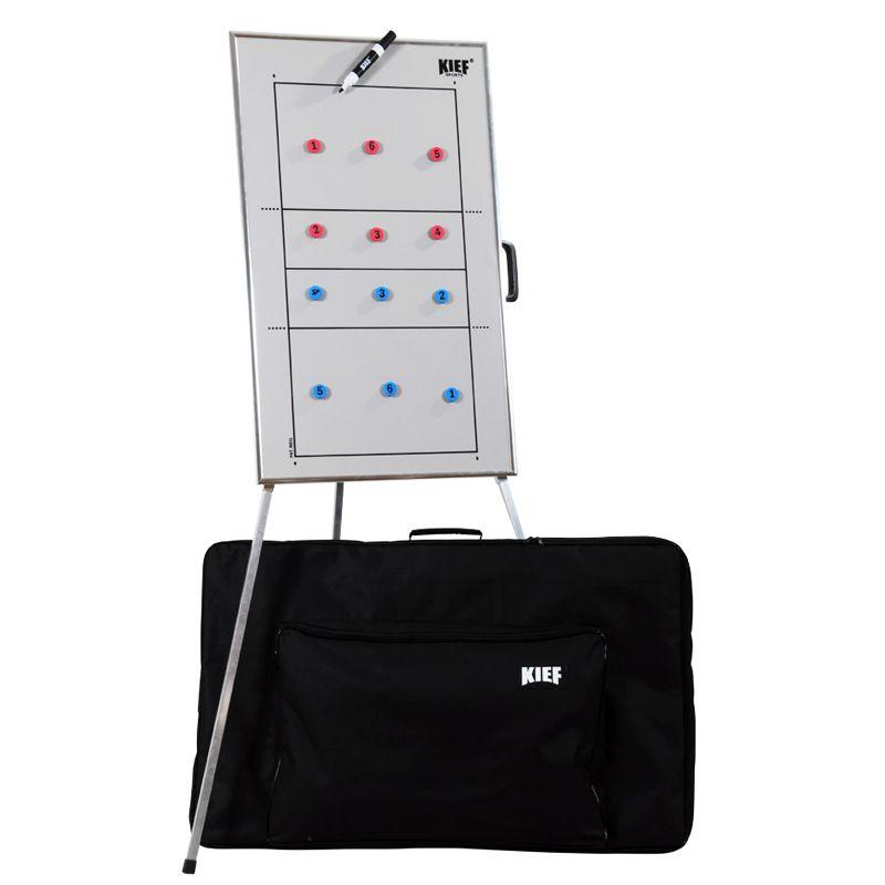 Quadro Tático Magnético de Voleibol com Tripe Kief