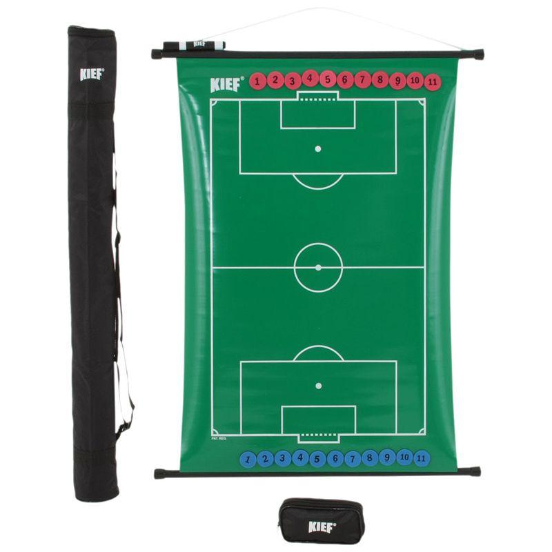 Quadro Tático Magnético Flexível de Futebol de Campo Kief