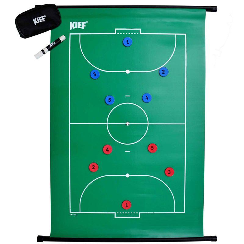 Quadro Tático Magnético Flexível de Futsal Kief