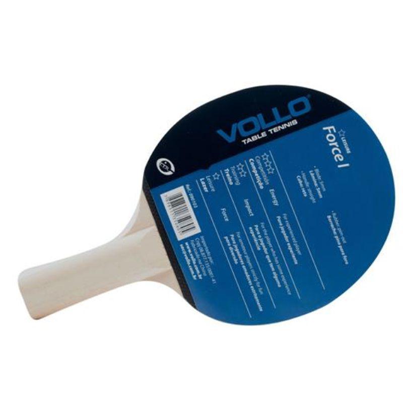 Raquete Ping-Pong Force I - 1 Estrela - Vollo - 090103
