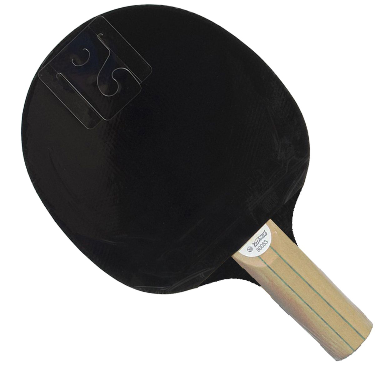 Raquete Tenis de Mesa Yashima Competition Pro Series XR3000 Rubber Caneteira 80053B