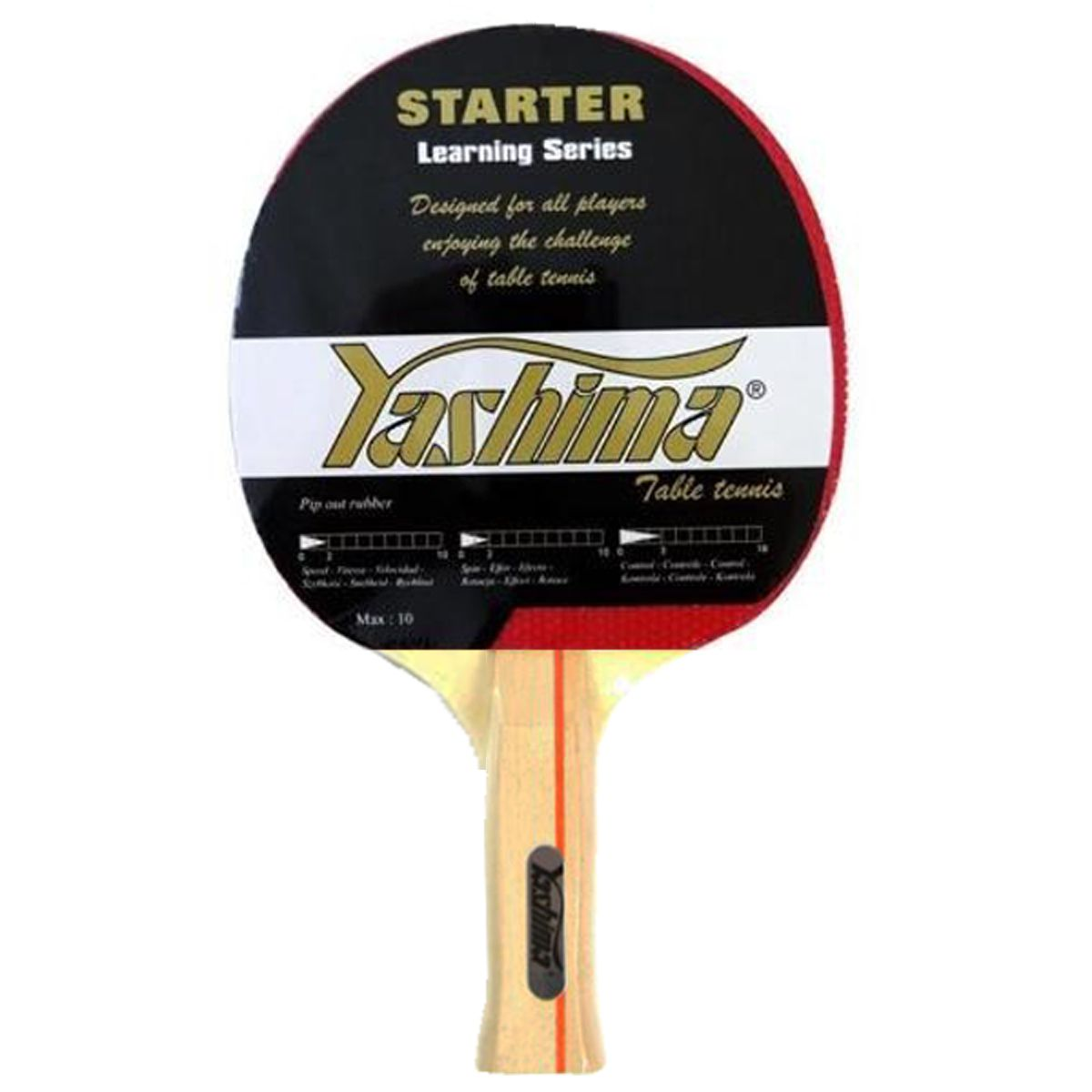 Raquete Tenis de Mesa Yashima Starter Learning Series 9421