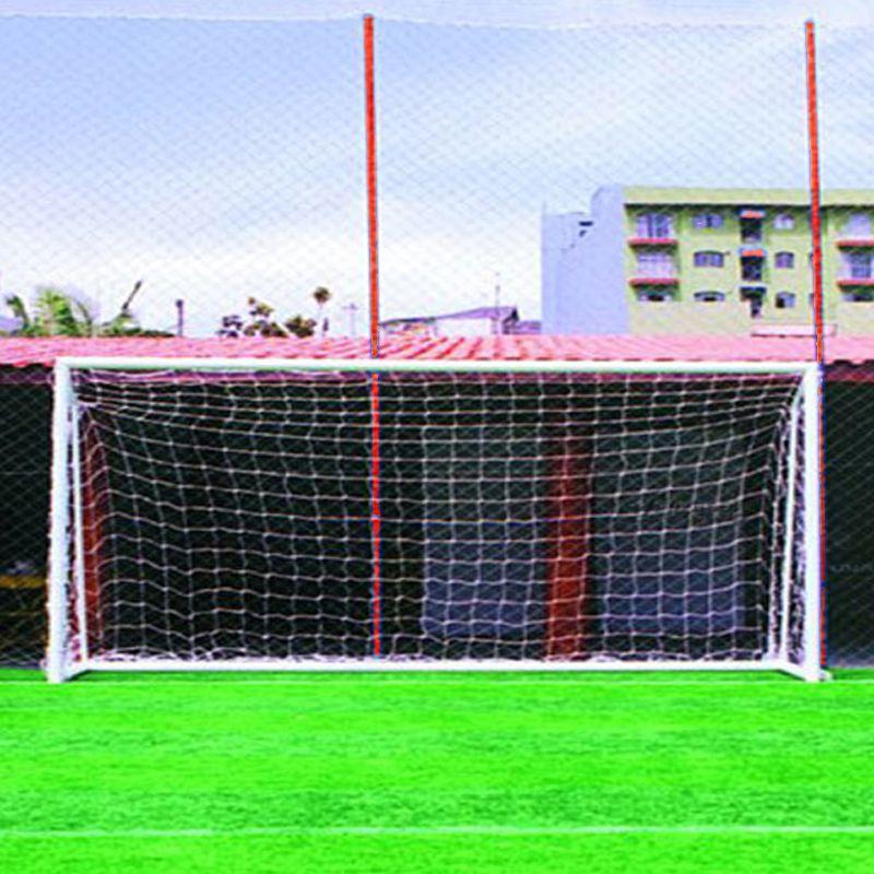 Rede de Futebol Society 6,20 x 2,30 Fio Nylon 4 mm Master Rede