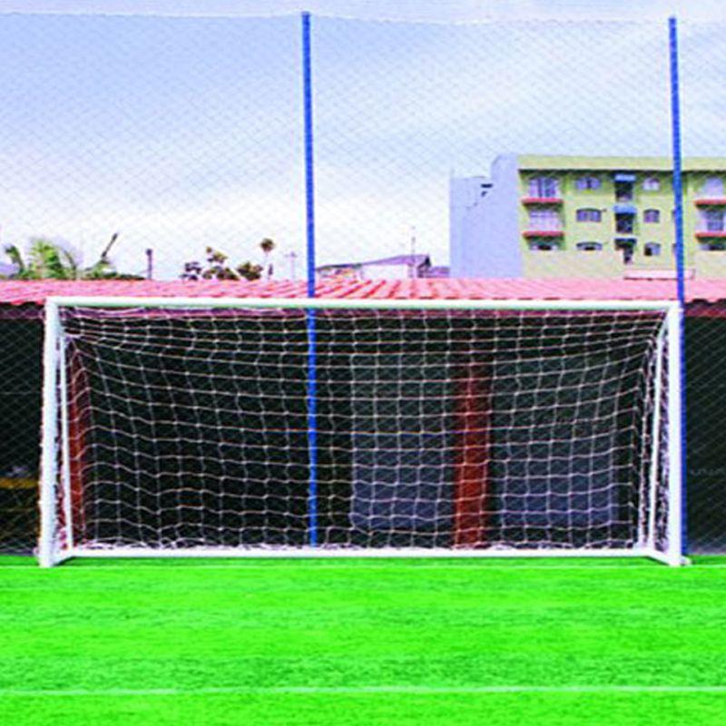 Rede de Futebol Society 6,20 x 2,30 Fio Seda 4 mm Master Rede