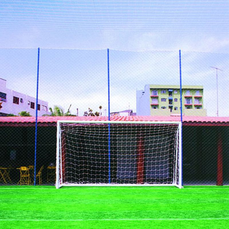 Rede de Futebol Society 5,20 X 2,30 Fio Seda 4 mm Master Rede
