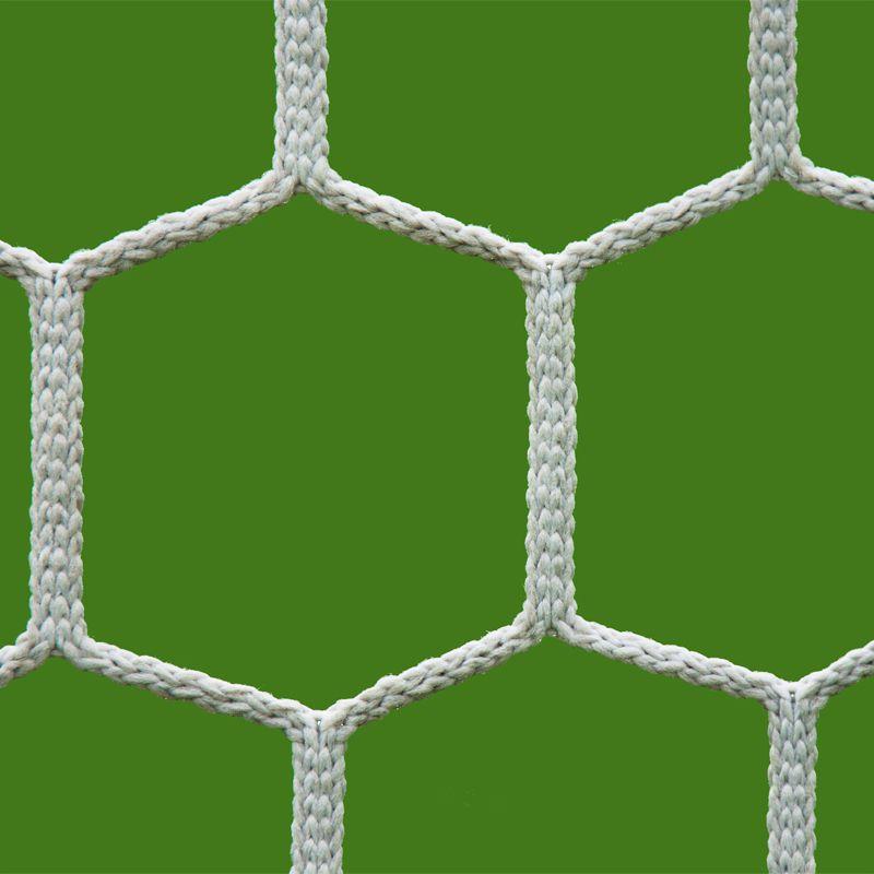 Rede de Futebol Suiço 6,20 x 2,30 metros Fio Seda 2 mm - Colmeia