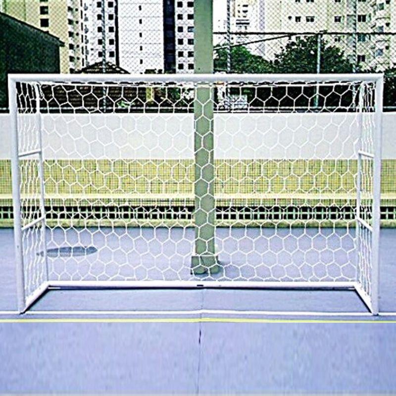 Rede Oficial de Futebol de Salão Fio Seda 2,5 mm PP - Colmeia