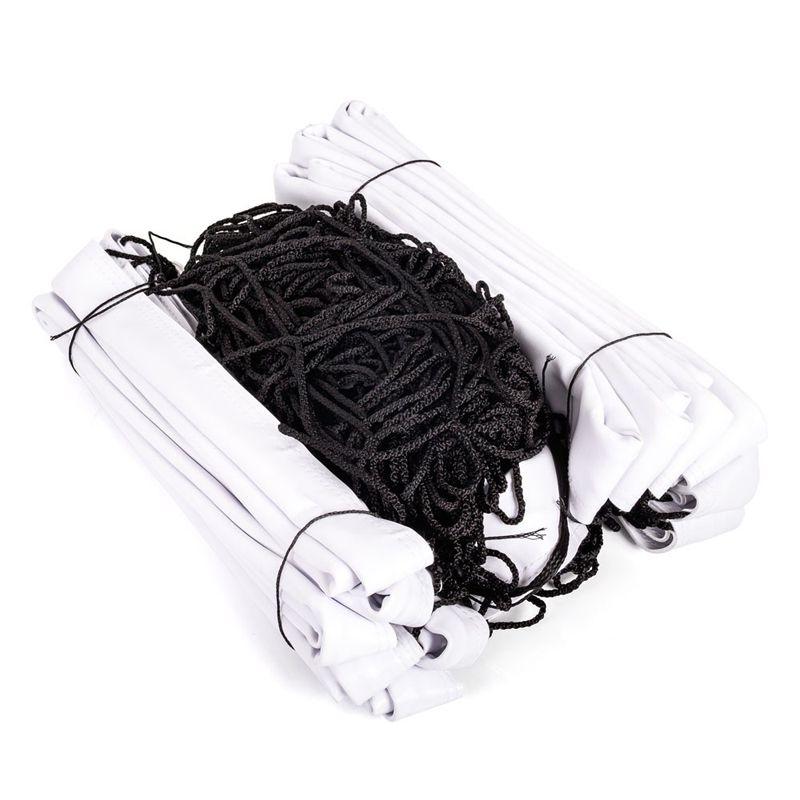 Rede Oficial de Vôlei de Quadra Fio Seda 4 Faixas PVC