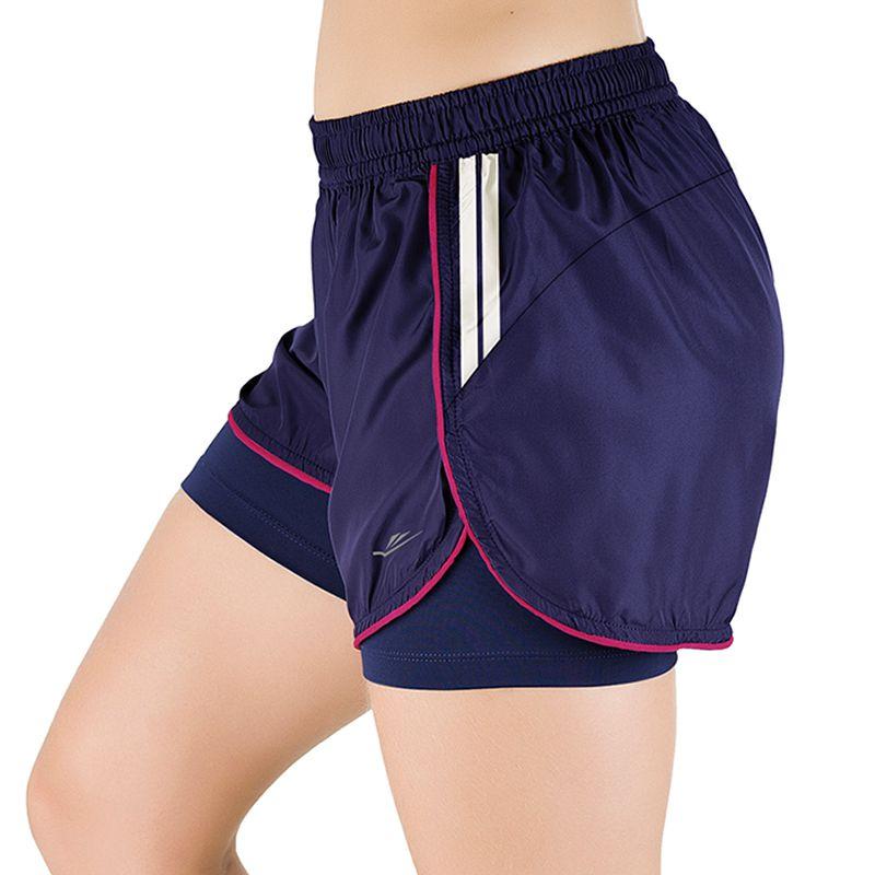 Short de Corrida Feminino Elite Running Never Land - 033677