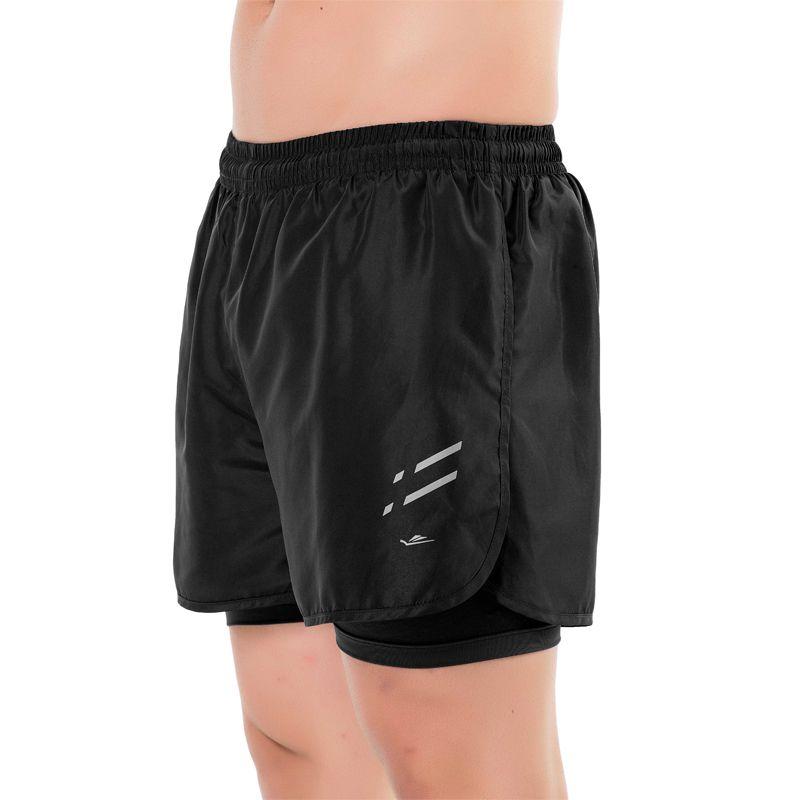 Short Running Masculino Elite Quality Preto 31383