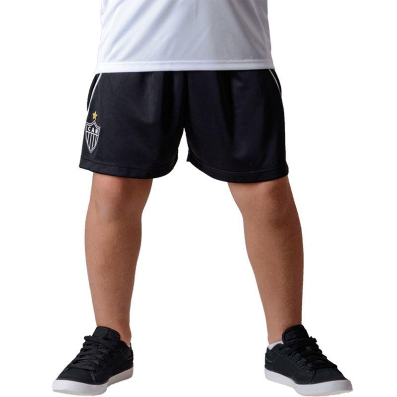 Shorts Bermuda Infantil do Atlético Mineiro Caps