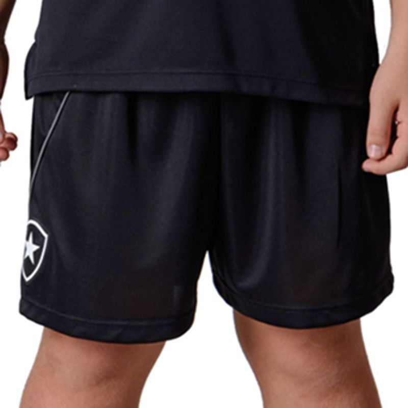Shorts Bermuda Infantil do Botafogo Caps