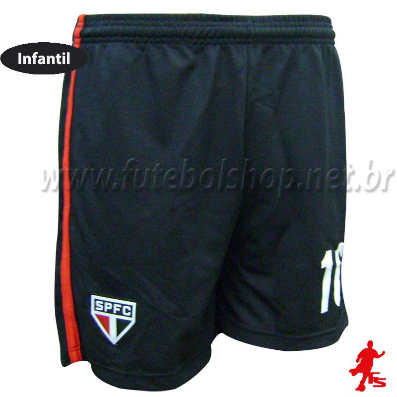 Shorts Infantil do São Paulo FC Jony