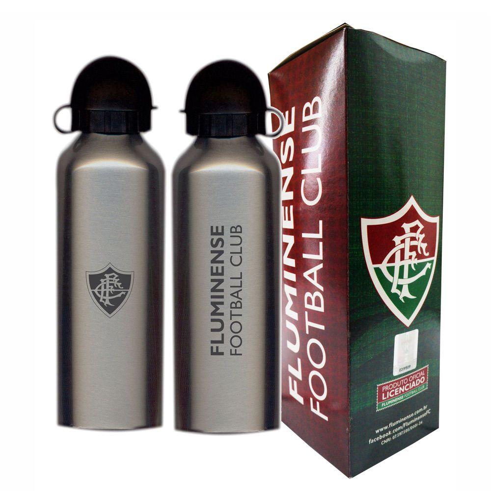 Squeeze do Fluminense 500ml - Inox Prata