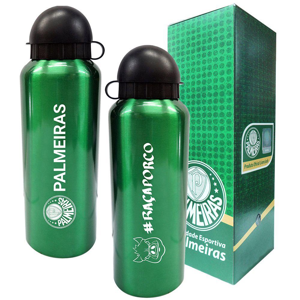 Squeeze do Palmeiras 500ml - Inox Verde