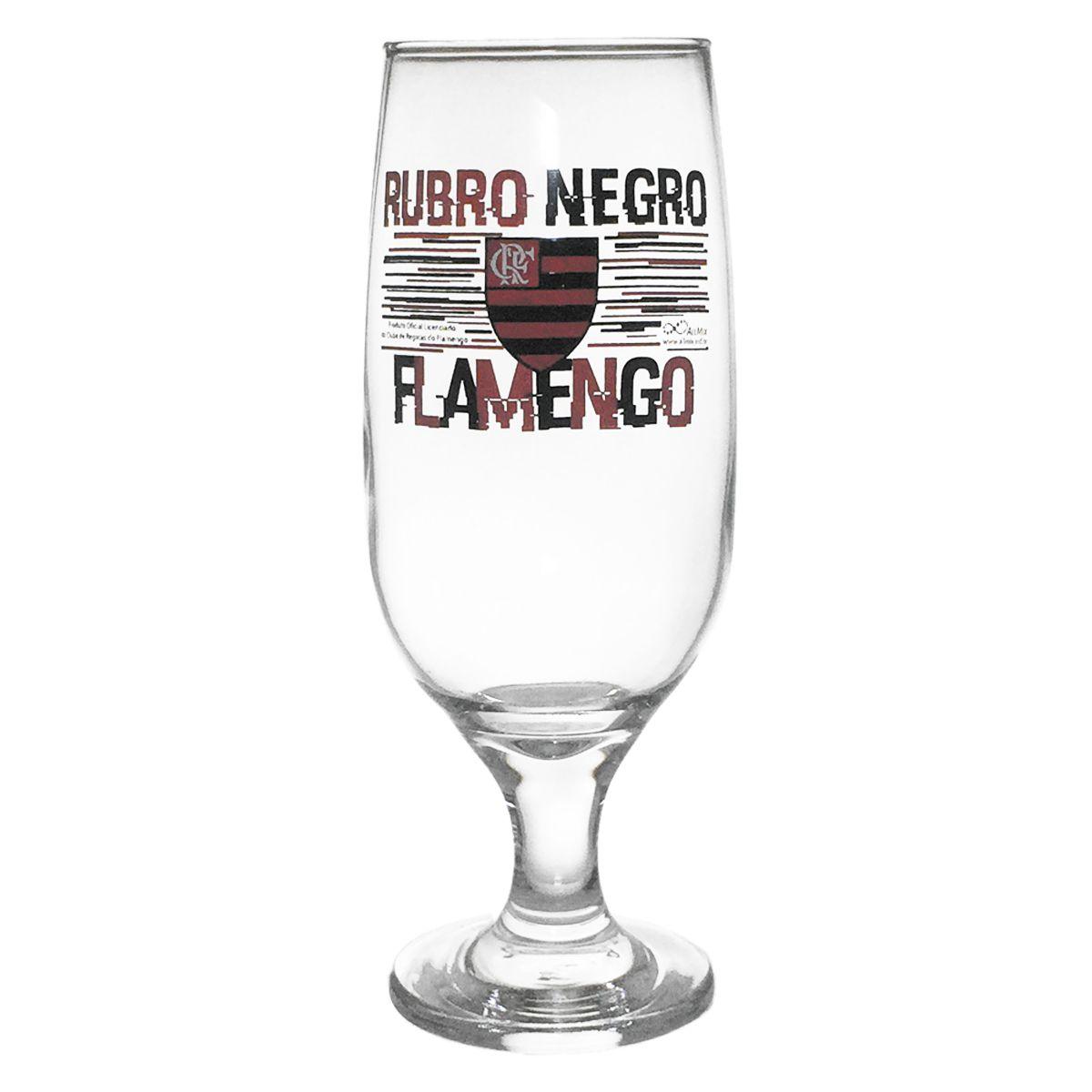 Taça de Cerveja do Flamengo 300 ml em Caixa Personalizada