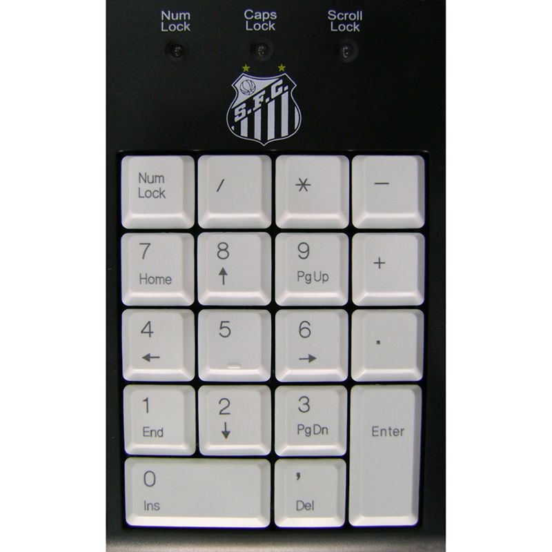 Teclado USB Multimídia do Santos