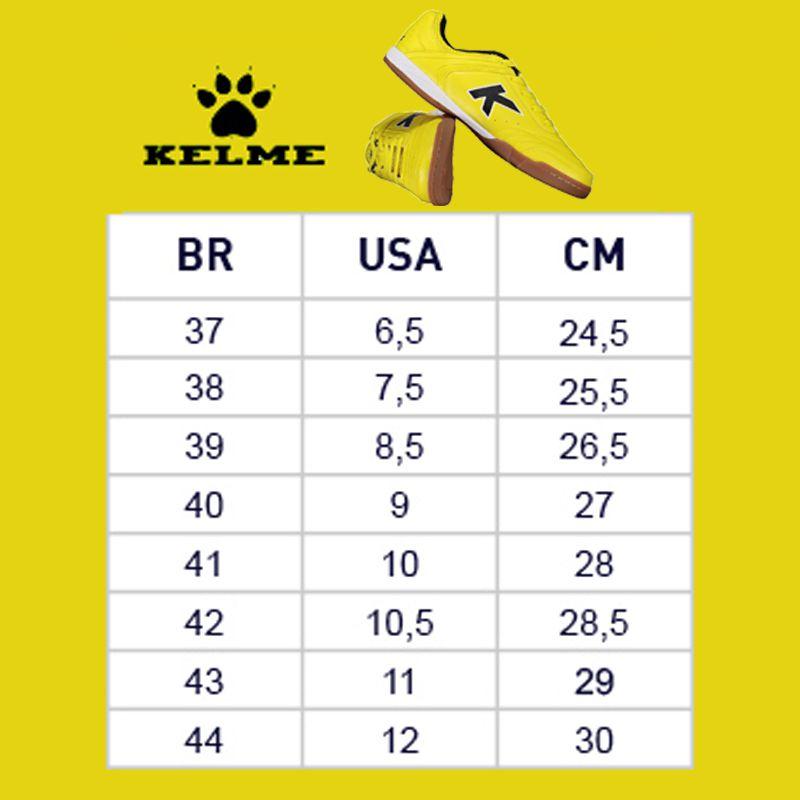 Tênis Kelme Precision TRN Futsal Amarelo - KEF4312010