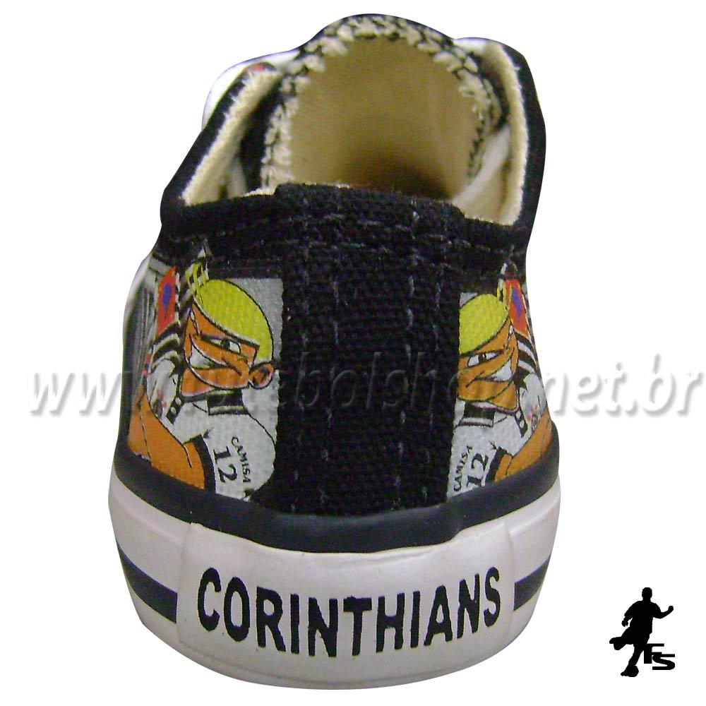 Tênis Star da Torcida Camisa 12 do Corinthians Infantil