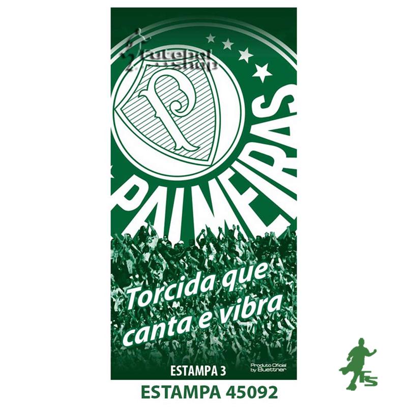 Toalha de Banho do Palmeiras Buettner Veludo