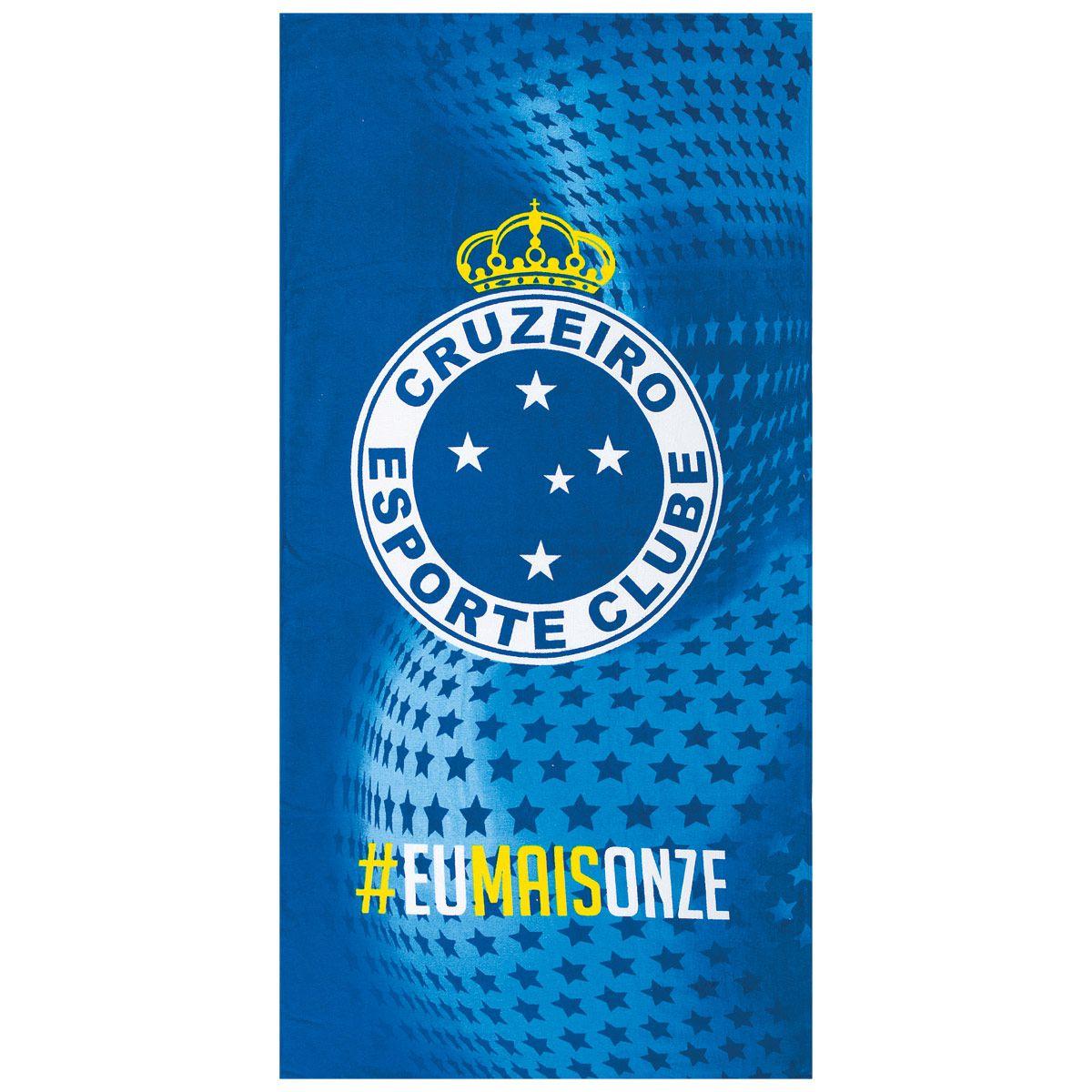 b2d41ba76 Toalha do Cruzeiro Velour Dohler 19078 - FUTEBOL SHOP