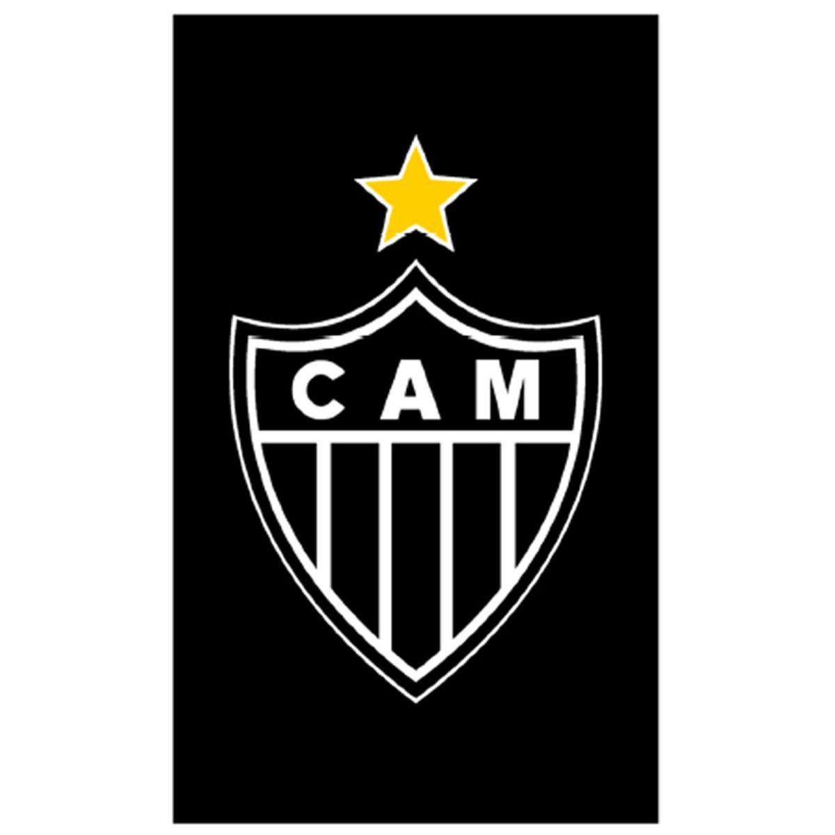 Toalha Social do Atlético Mineiro Veludo Buettner - 30 x 50 cm