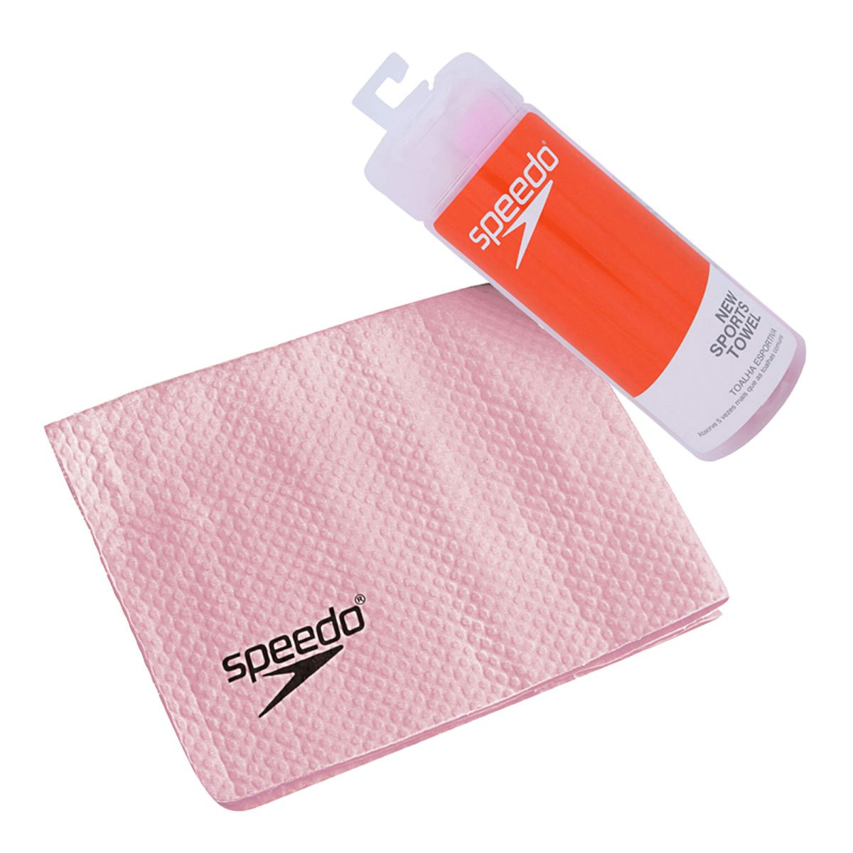Toalha Speedo Esportiva New Sports Towel Rosa - 629048