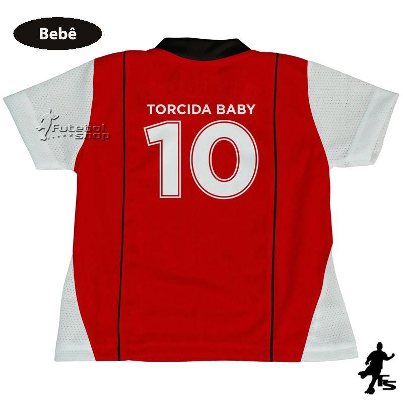Uniforme de Bebê do São Paulo - Torcida Baby 031H