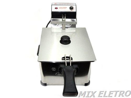 Fritadeira Elétrica Profissional 5 Litros 1 Cuba Cotherm  - Mix Eletro