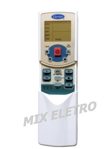 Controle Remoto Para Ar Condicionado Carrier Tipo Cassete  - Mix Eletro