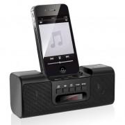 Dock Station Caixa de som P/ iphone/ipod/p2/USB/Micro SD/R�dio FM � 8W, Bateria Litio, Bivolt - Mult