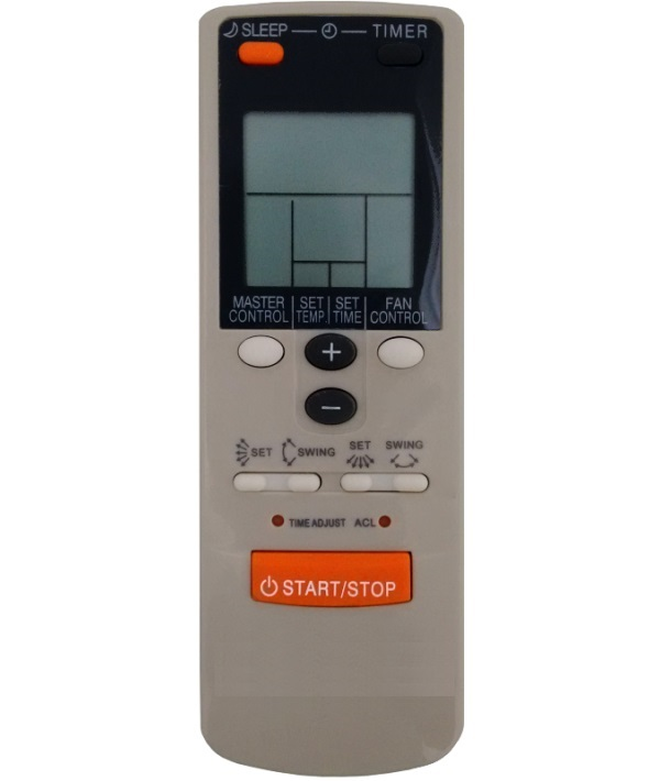 Controle Remoto para Ar Condicionado SPLIT PISO TETO HI-WALL FUJITSU AR-JW  - Mix Eletro