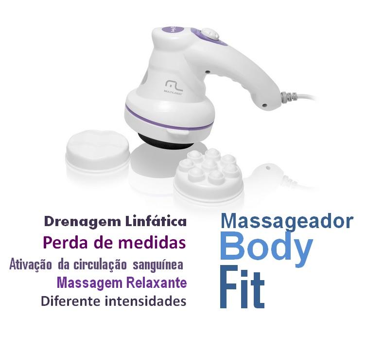 Massageador para drenagem linfática, perder medidas e relaxar  - Mix Eletro