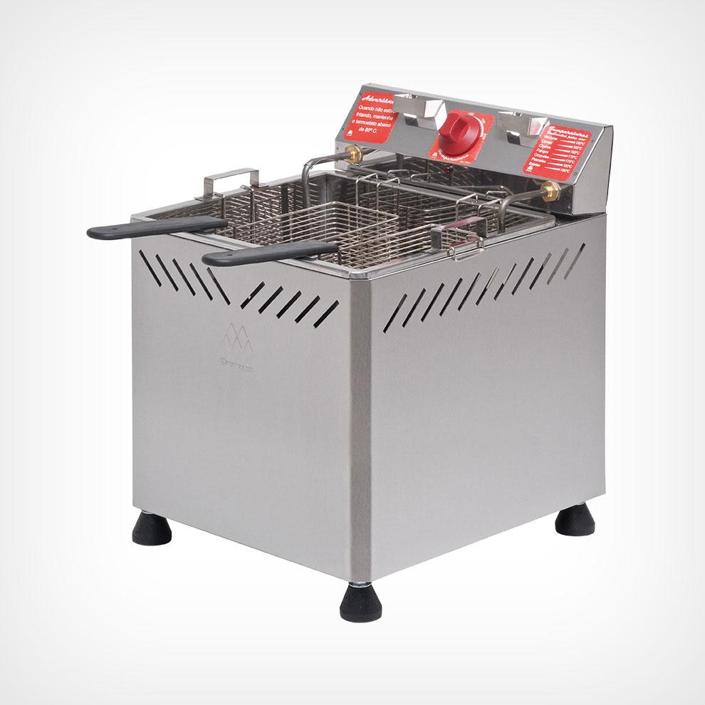 Fritadeira Elétrica 25 litros Água/Óleo Bancada 5000W 220V Marchesoni  - Mix Eletro