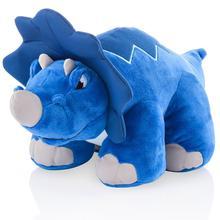 Pelúcia Dinossauro com Som Crash Thunder Stompers Triceratops - Multikids BR358  - Mix Eletro