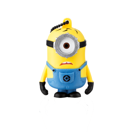 Pendrive 8GB Colecionável MINIONS - CARL PD094  - Mix Eletro