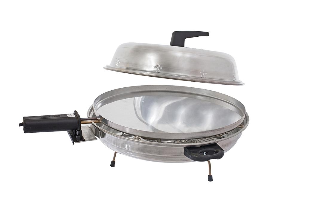Churrasqueira elétrica 2 em 1 Pizza Grill Cotherm  - Mix Eletro