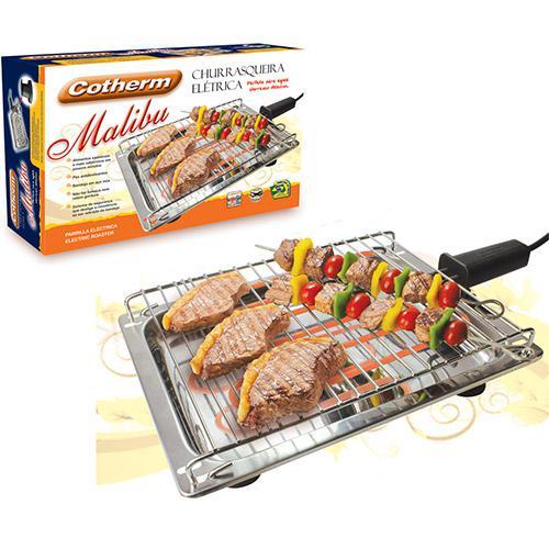 Churrasqueira Elétrica Malibu Inox 1650W - Cotherm  - Mix Eletro