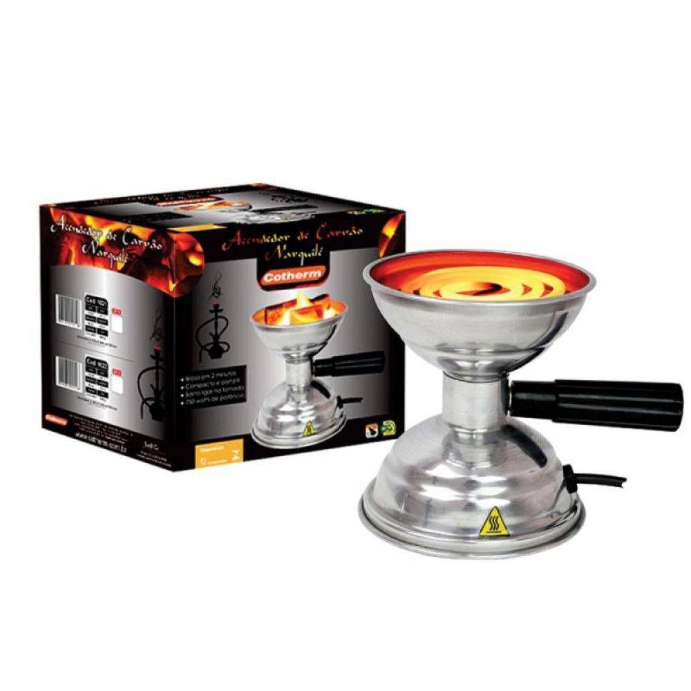 Acendedor Elétrico portátil de Carvão Para Narguilé Cotherm  - Mix Eletro