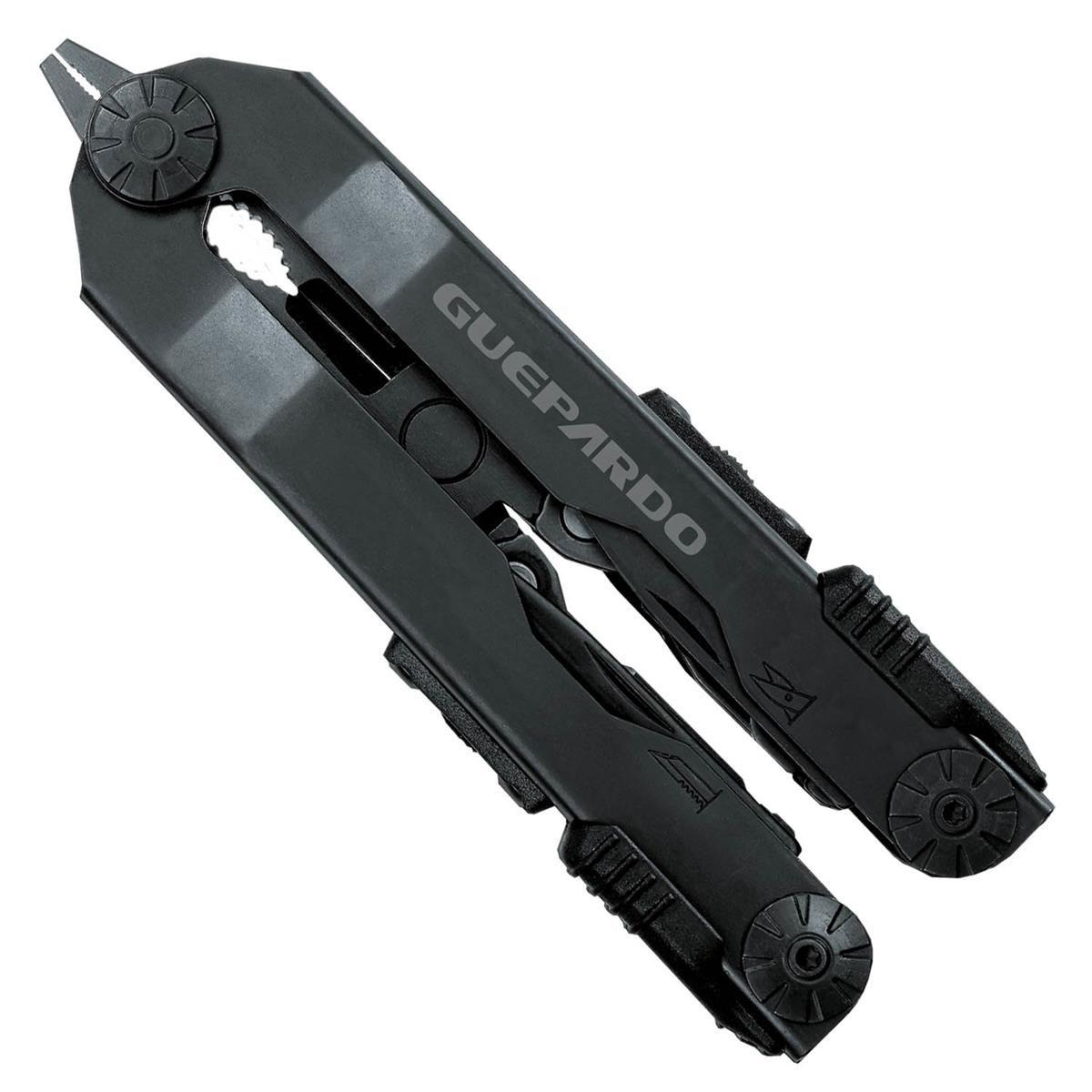Alicate multifunção 10F de alta resistência em aço inox 420 Fox Guepardo  - Mix Eletro