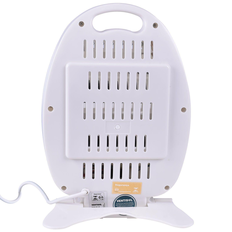 Aquecedor de ambiente Doméstico Quartzo compacto AQ-01 800W Ventisol  - Mix Eletro