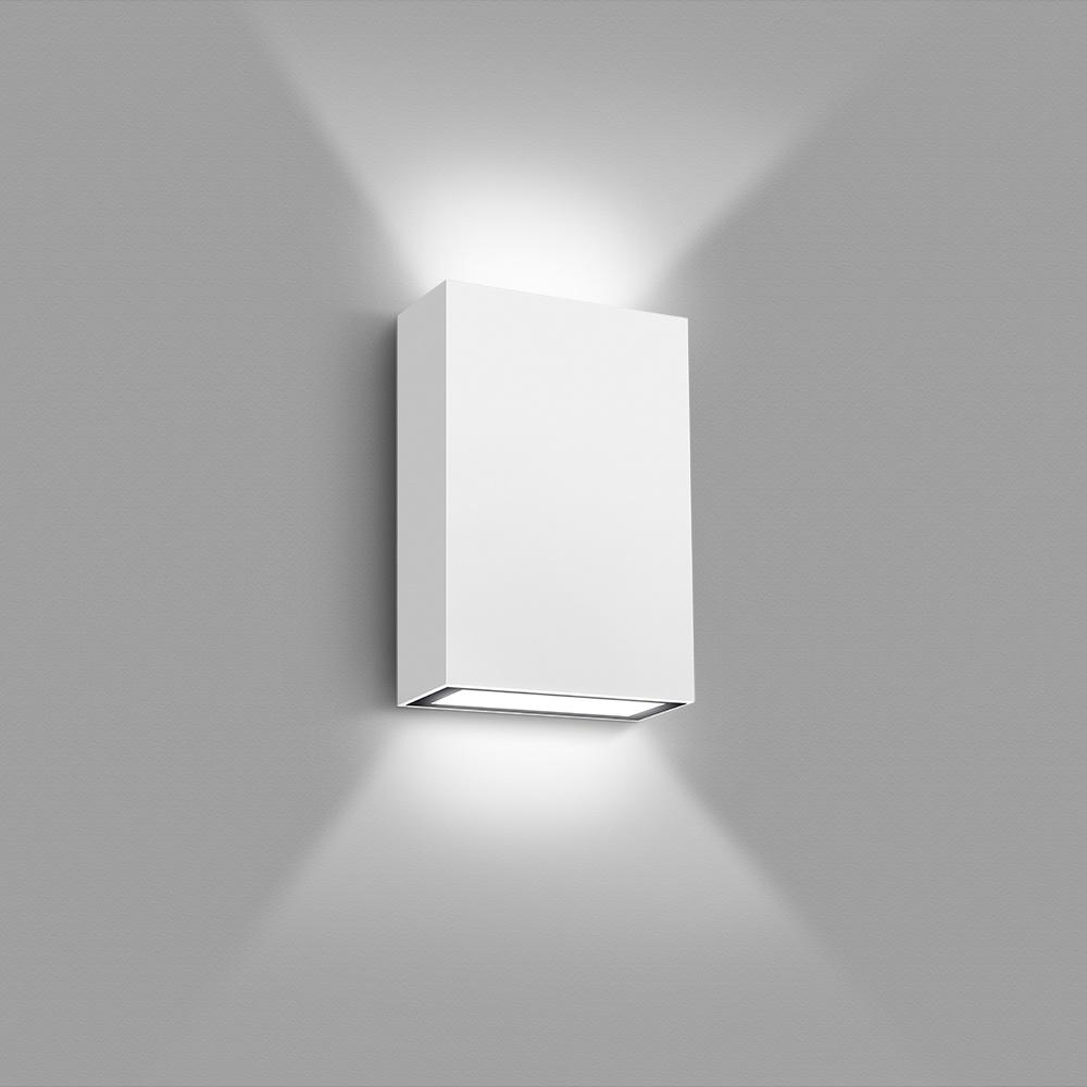Arandela Led blindada efeito 2 faixos 4W 3000K branca Elgin  - Mix Eletro