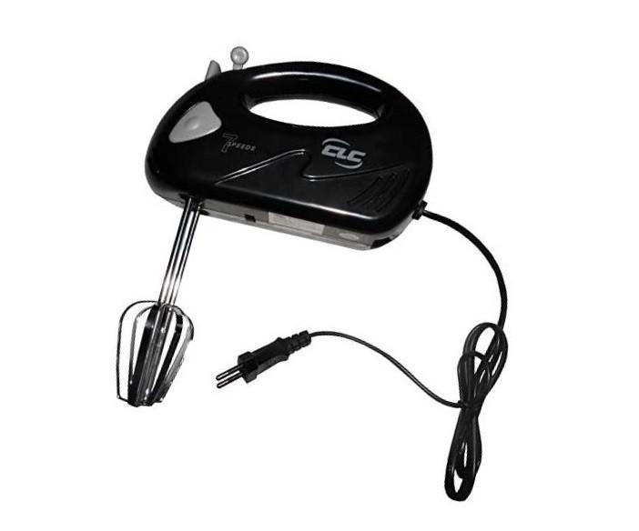 Batedeira de Mão Compacta 7 velocidades 150W CLC Preta BT502  - Mix Eletro